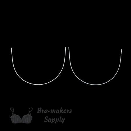 super-long underwire metal bra underwire WSL-56 from Bra-Makers Supply pair shown