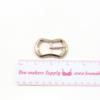 Rose Gold Metal Adjuster Belt Buckle